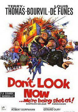 cover Don't Look Now: We're Being Shot At