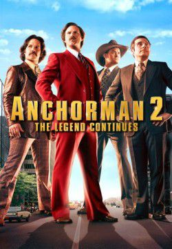 cover Anchorman 2: The Legend Continues