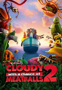 cover Cloudy with a Chance of Meatballs 2