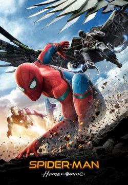 cover Spider-Man: Homecoming