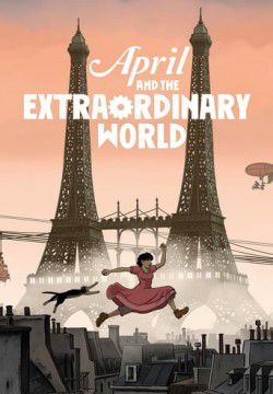 cover April and the Extraordinary World